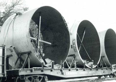 Ewing Rail Shipment 1970's