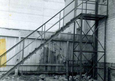 Fire Escape Work 1950's