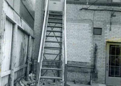 Fire Escape Work 1950's