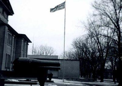 Flagpole 1950's