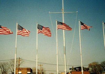 Flagpoles 1980's
