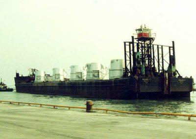 Ladles on Barge 1990's