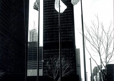 TD Tower Flagpoles 1970's